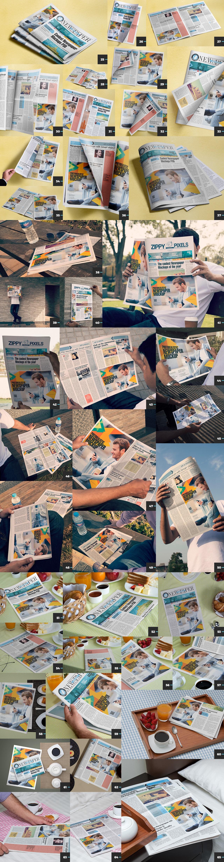 01 65 NEWSPAPER AD MOCKUPS (Part 2)