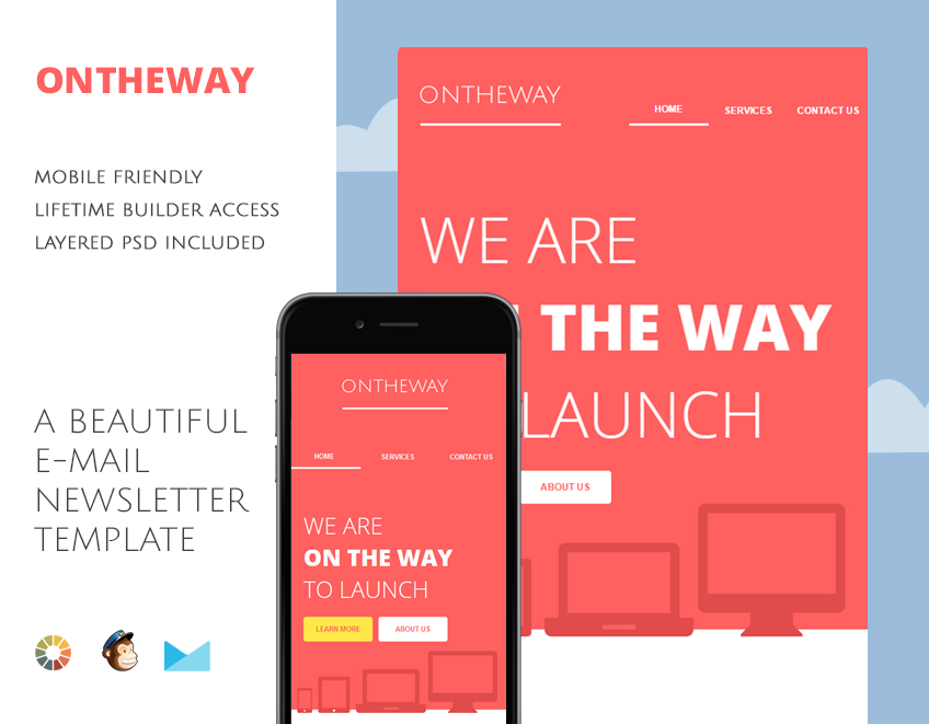 Beautiful template design that is fit for any startup business or services.
