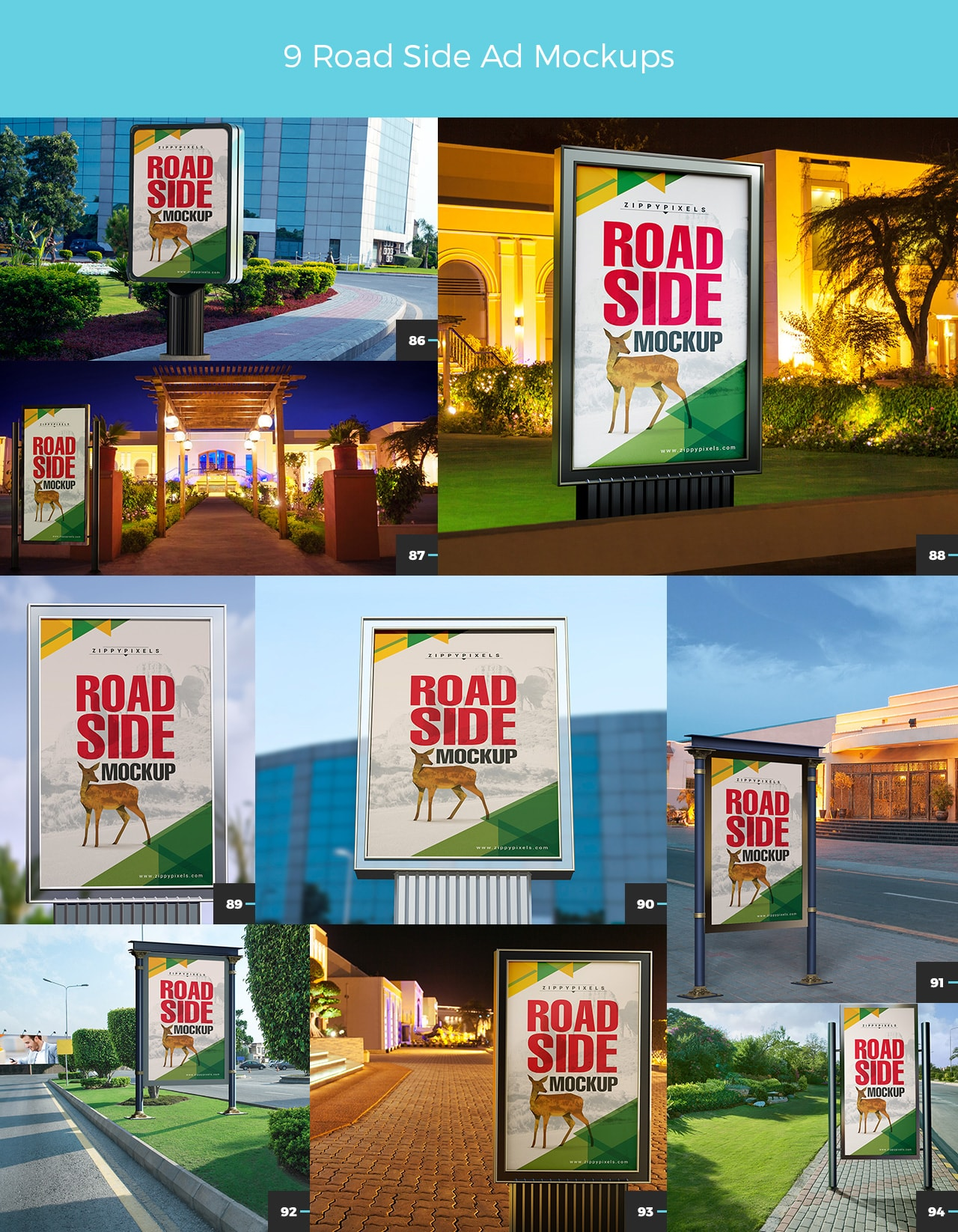 03 9 ROAD SIDE AD MOCKUPS