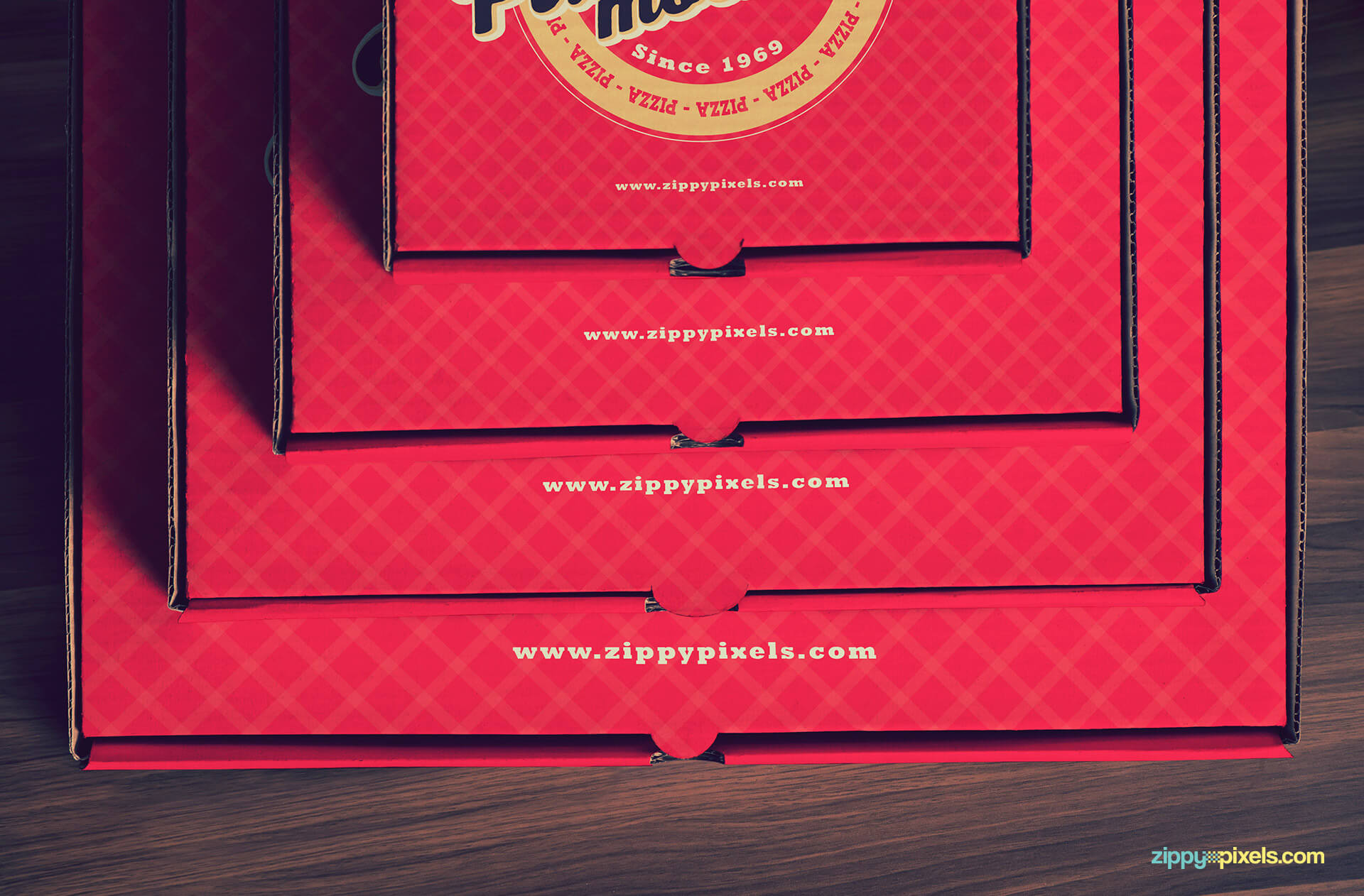 The perfect pizza packaging mock-ups.