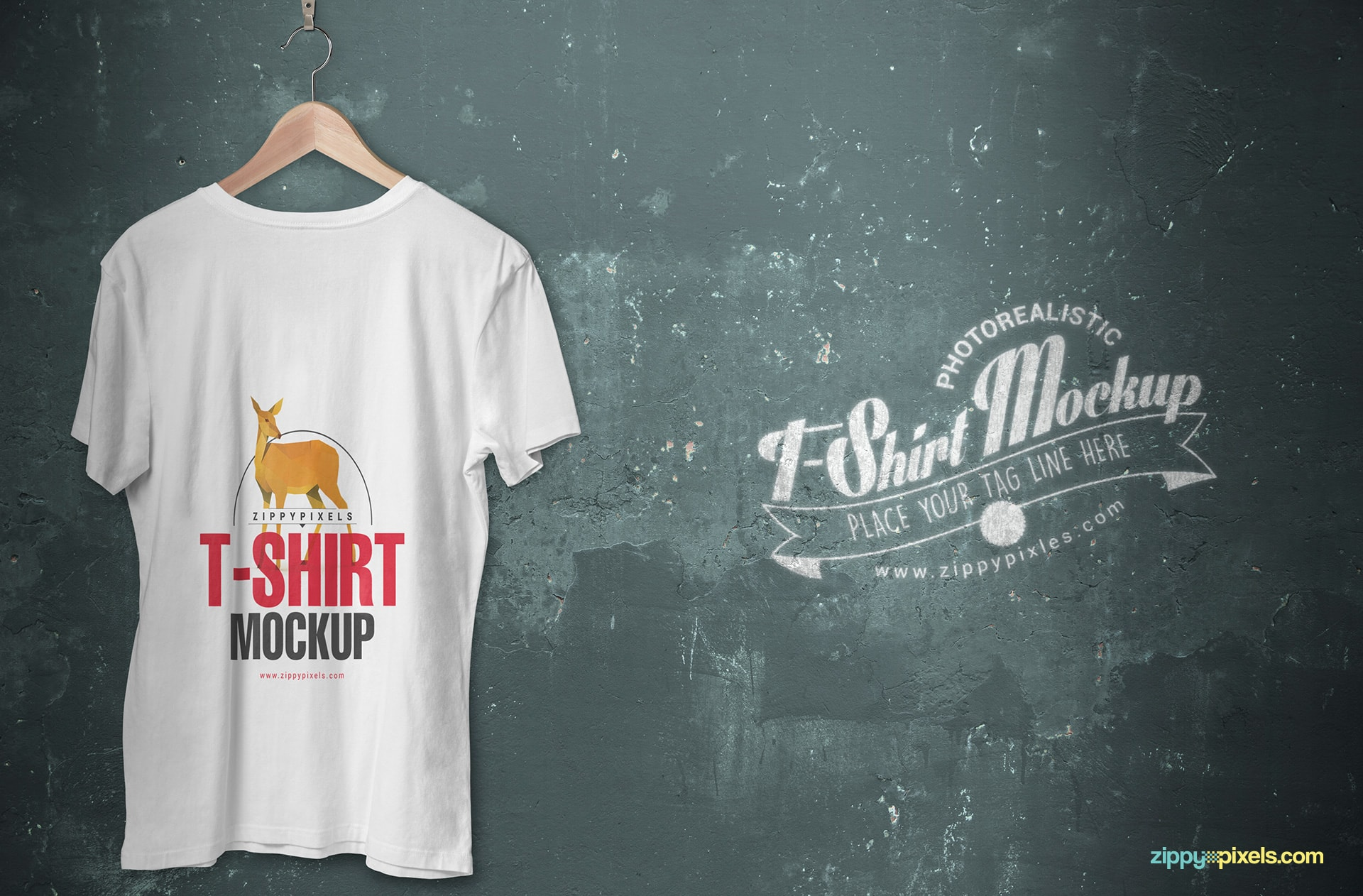 hanging-v-neck-t-shirt-mockup-back-side