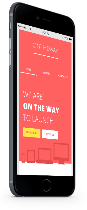 ontheway mobile friendly email newsletter template