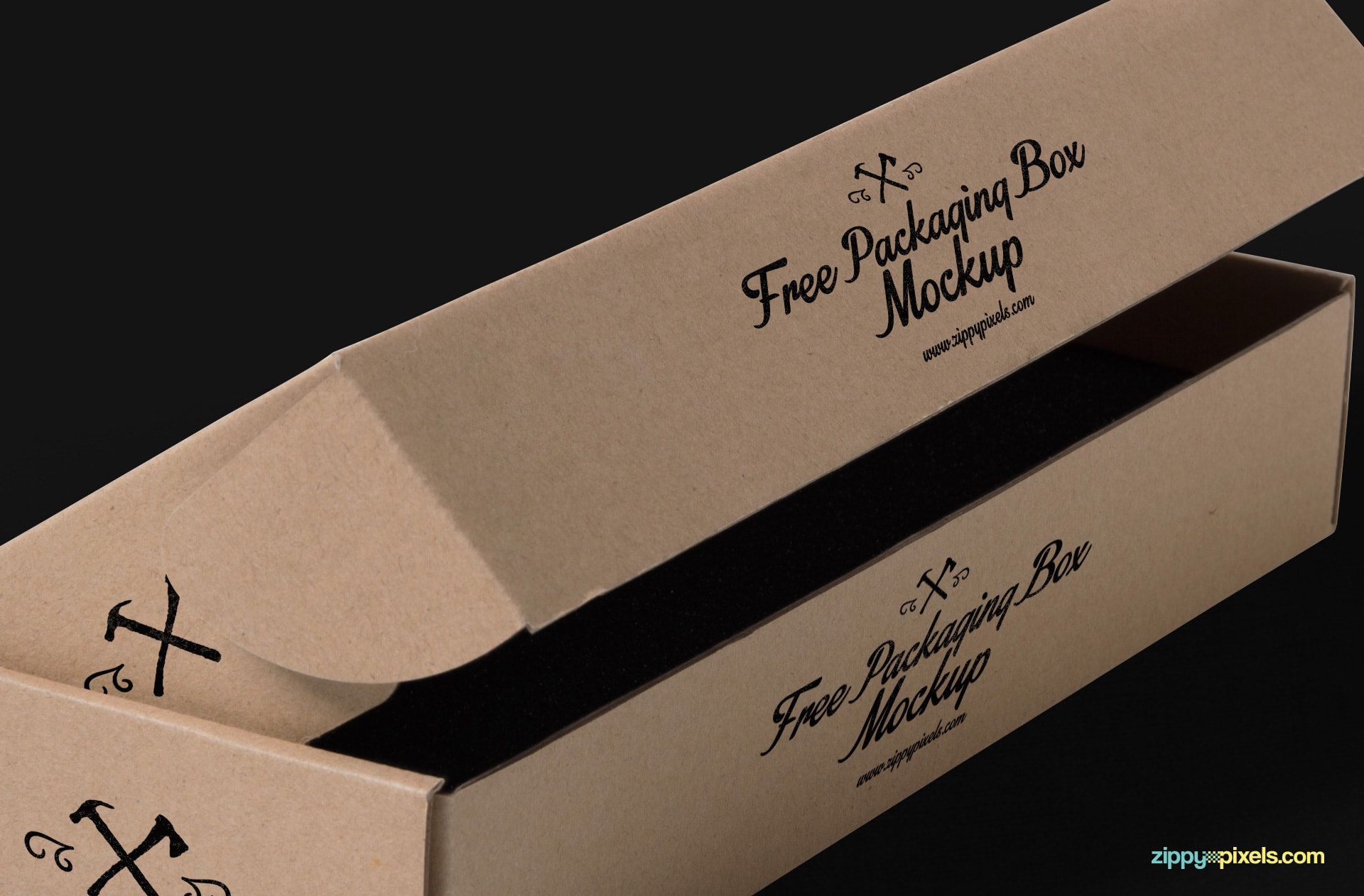Product box packaging psd mockups.