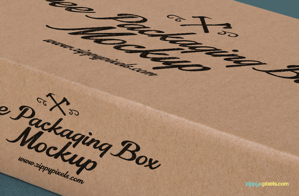 Free box mockup psds with multiple designs placement options.