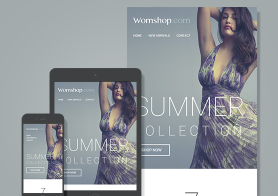 Womshop – MailChimp & CampaignMonitor Compatible E-Newsletter Templates