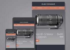 Electroshop – Elegant Business Email Template (MailChimp & CampaignMonitor Ready)