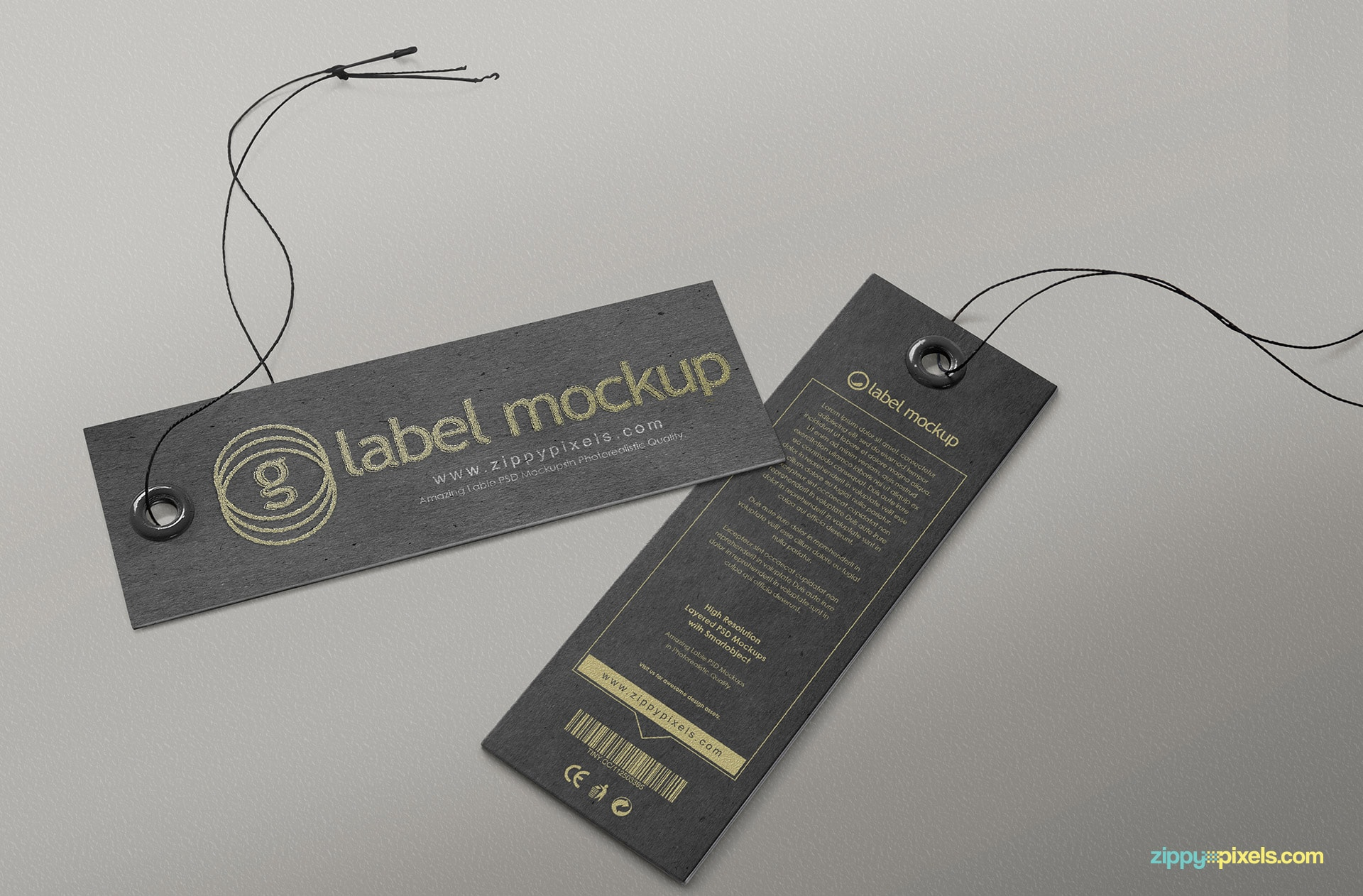 The best label mockup collection.