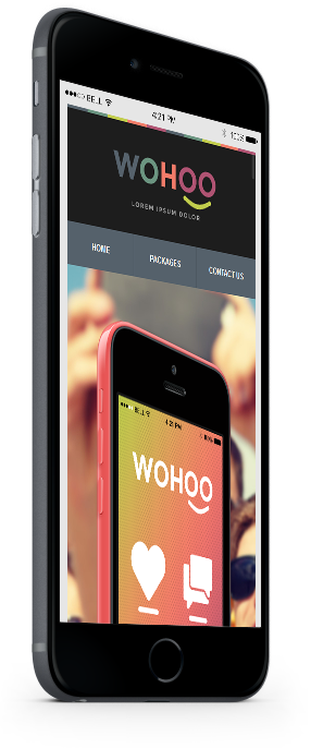 wohoo mobile responsive email newsletter template