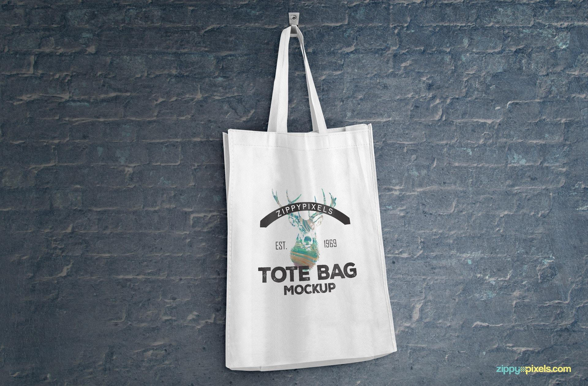 Beautifully designed free tote bag mockups