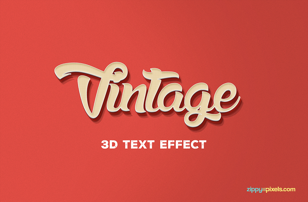 Beautiful Free Text Effect in PSD for your design projects.