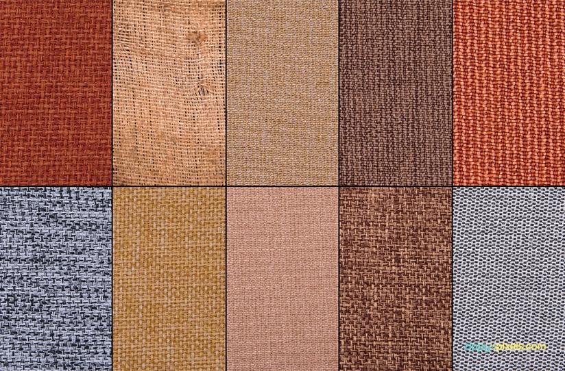 Jute fabric textures for digital designs