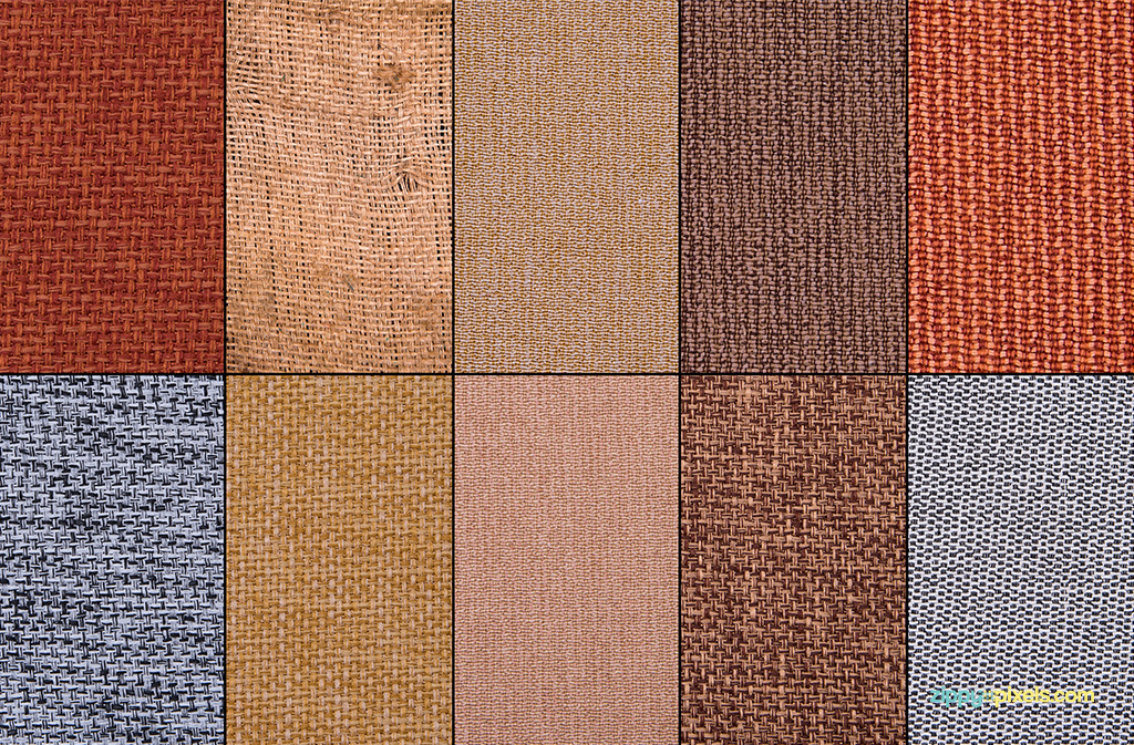 Jute fabric textures for digital designs