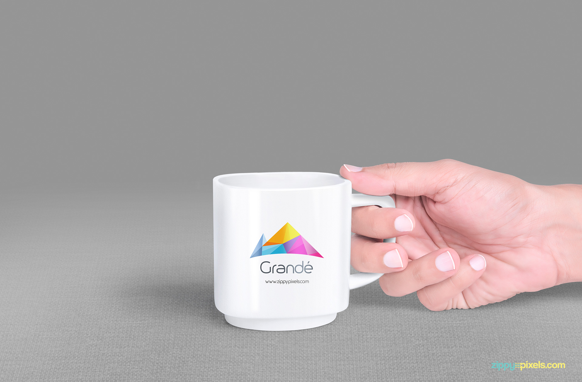 psd mug mockup to showcase your brand identity.
