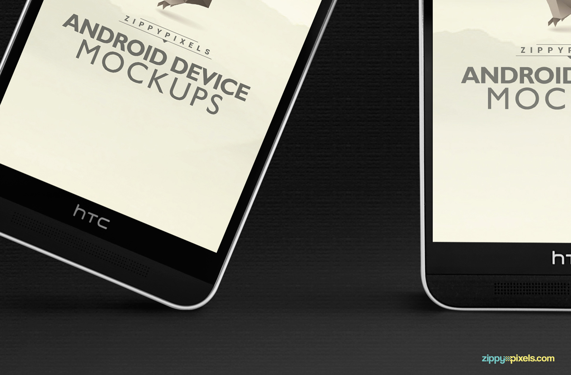 Android PSD mockups for responsive designs.