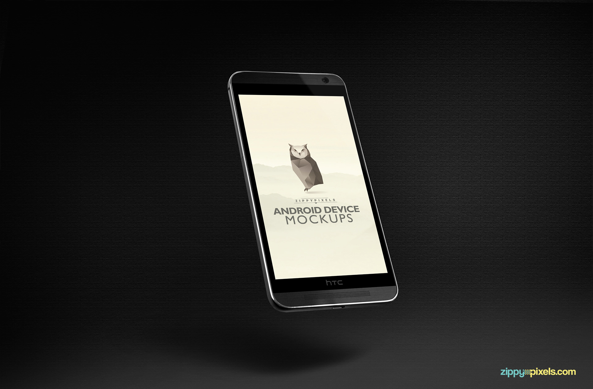 HTC ONE M8 mockup template