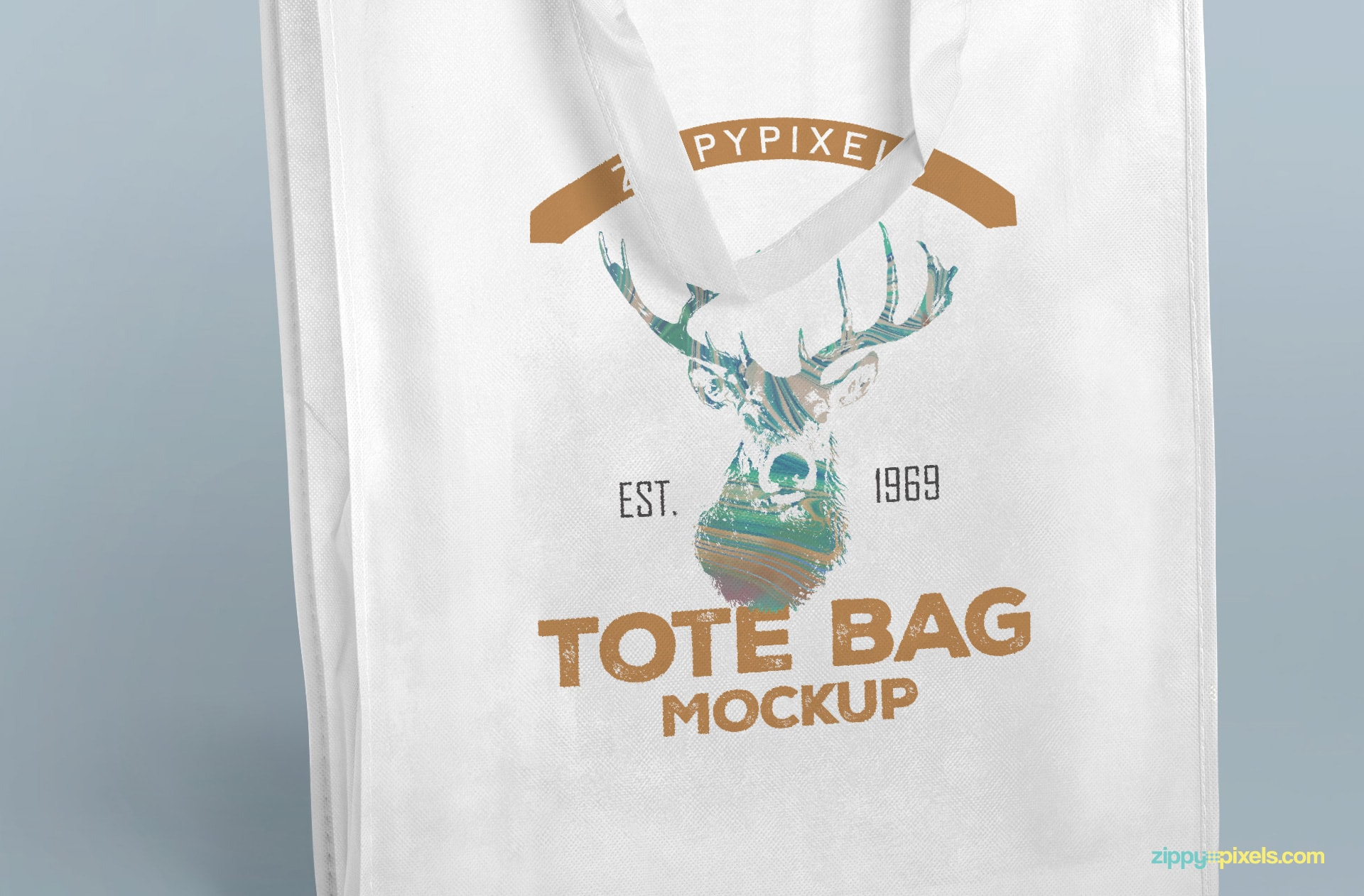 Showcase your designs on this free tote bag.