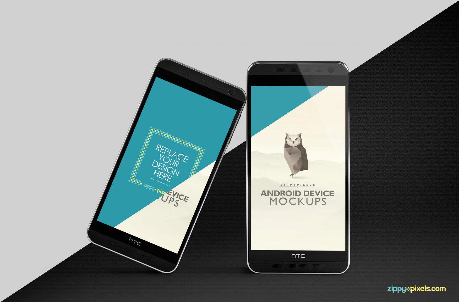 Device mockups to present your UI designs