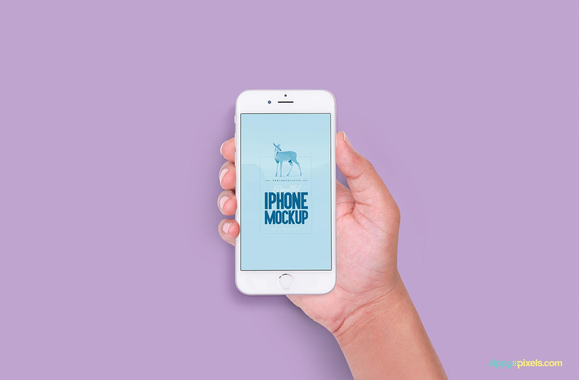 Professionally designed free iPhone 6s templates
