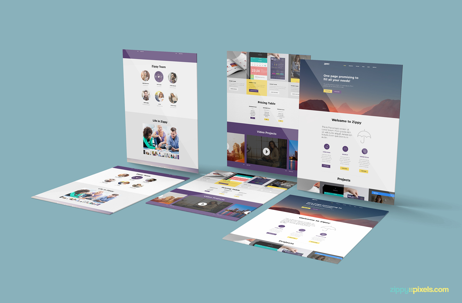 perspective-website-mockup-desktop-view-slides-on-surface