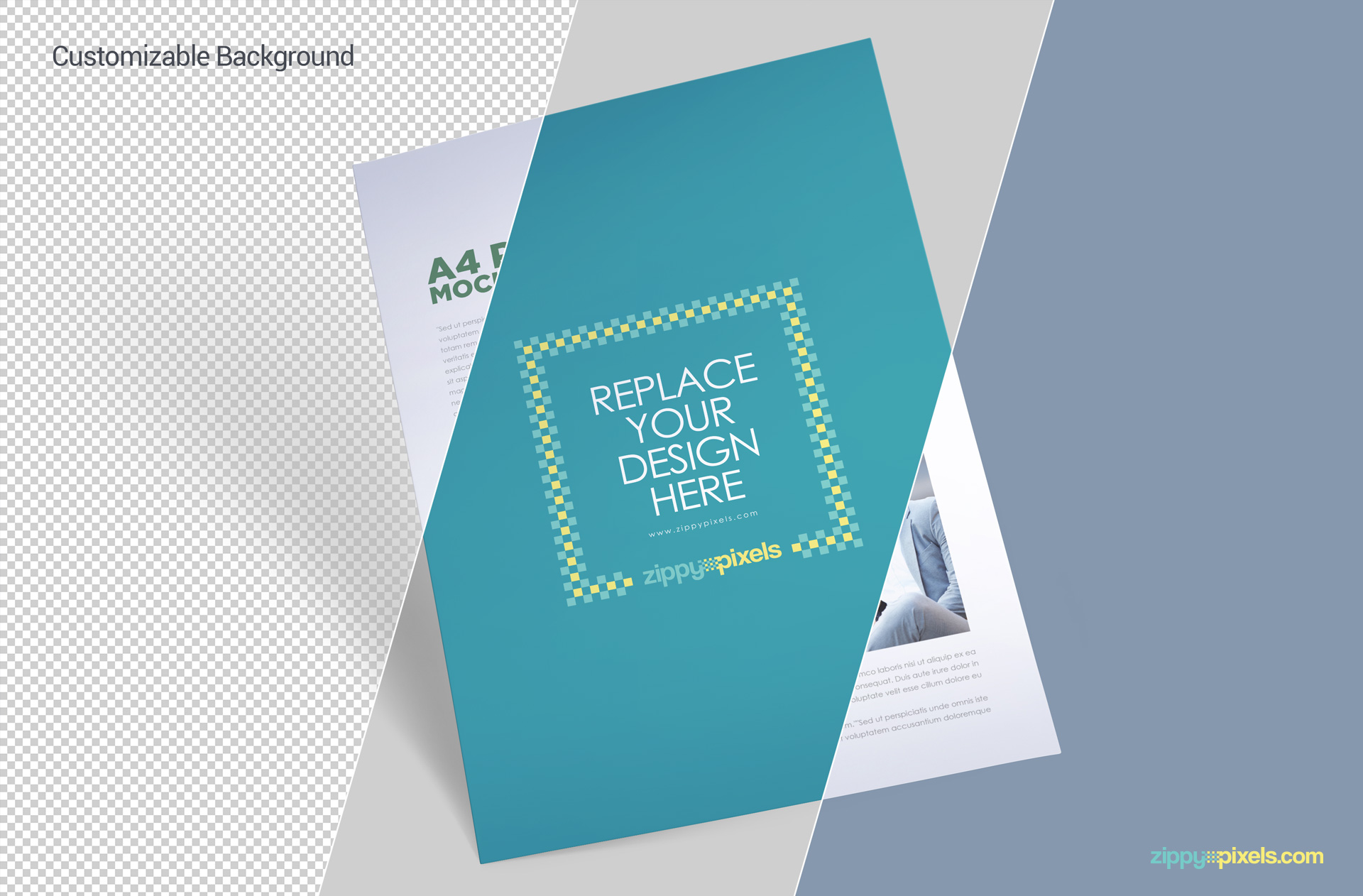 free editable a4 paper design