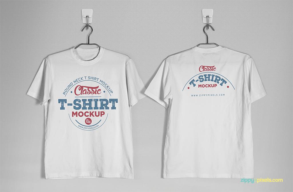 High quality PSD t shirt mockup