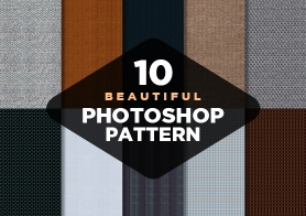 Free Photoshop Patterns – A Selection of 10 Seamless Fabrics