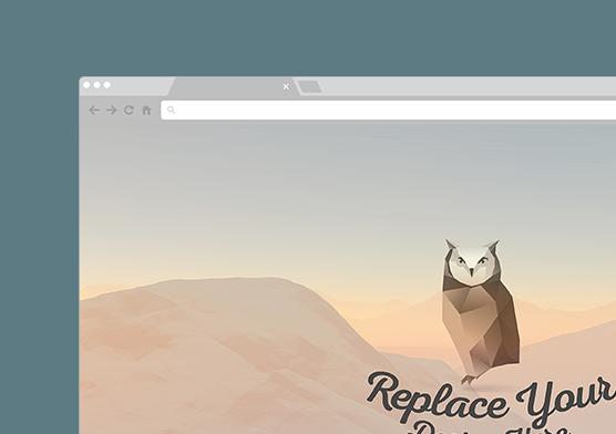 7 Free Vector Web & Mobile Browser Mockups   ZippyPixels