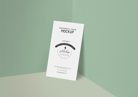 Customizable Free Business Card Mockup