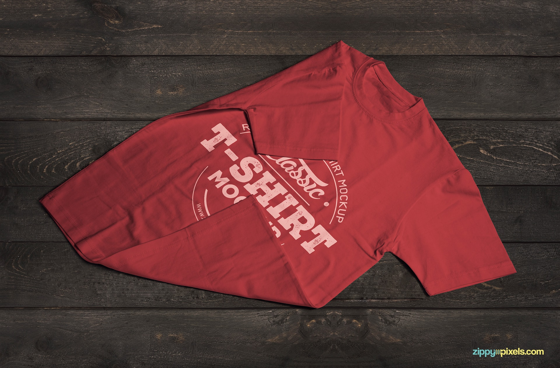vintage-style-t-shirt-mockup-folded-sleeves