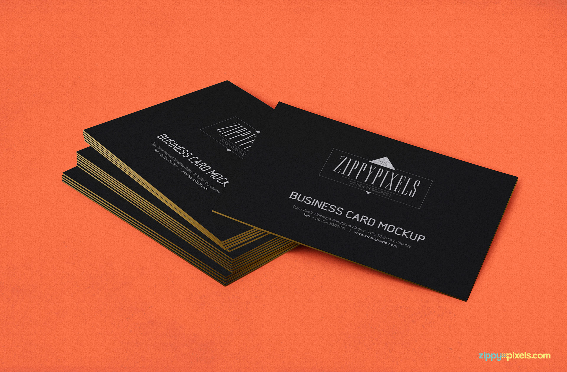 Free Business Card PSD Mockup | ZippyPixels