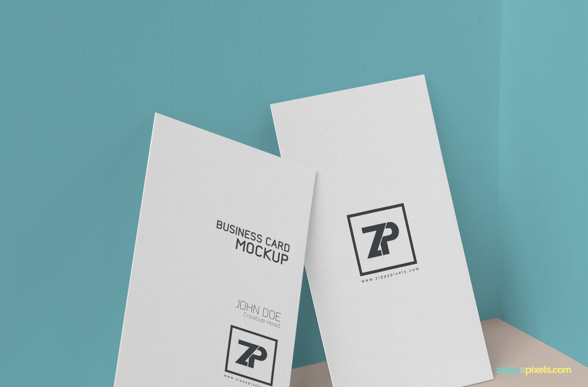 Free Business Card Mockup PSD | ZippyPixels