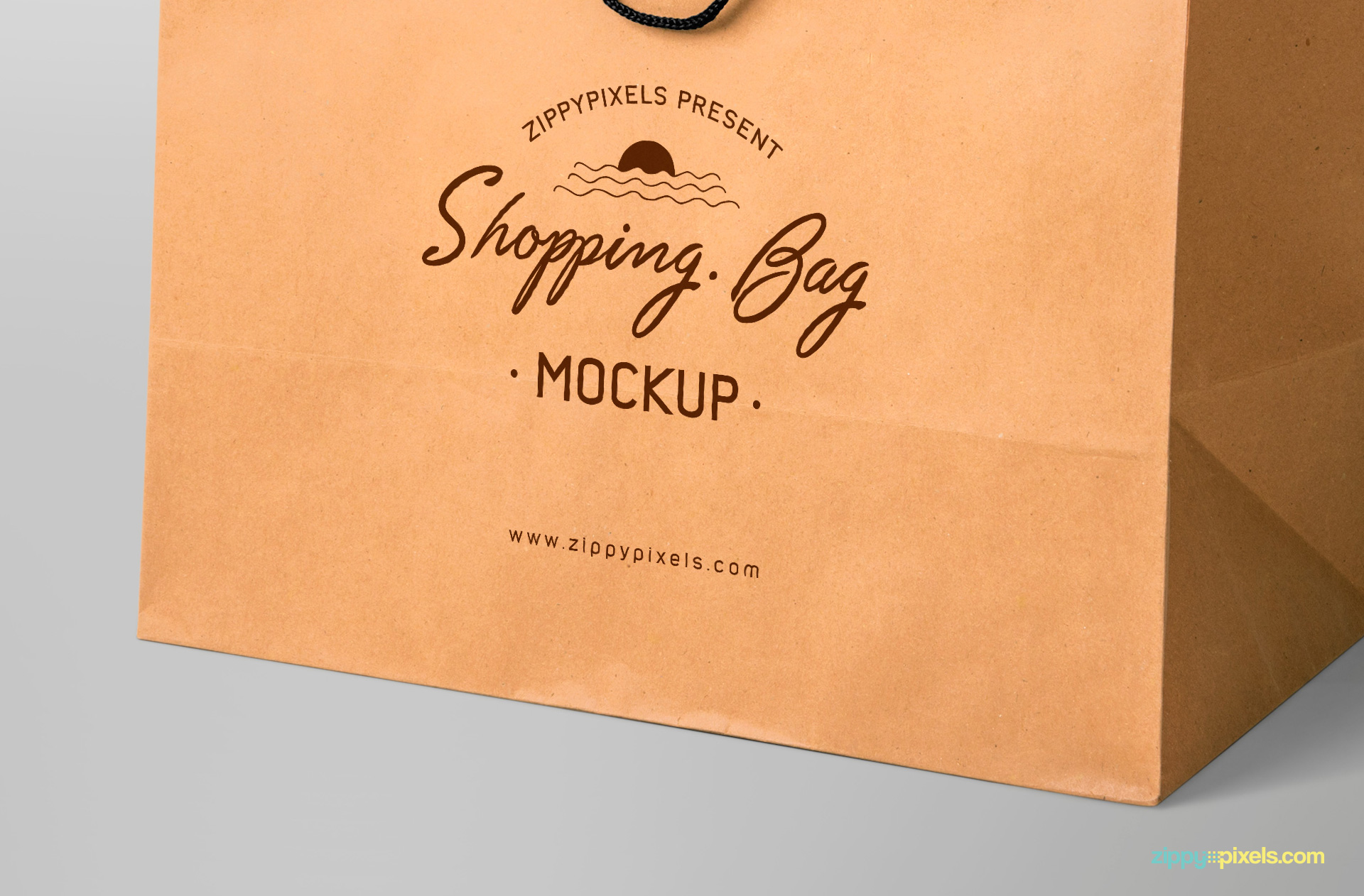 free shopping bag mock-up for branding designs