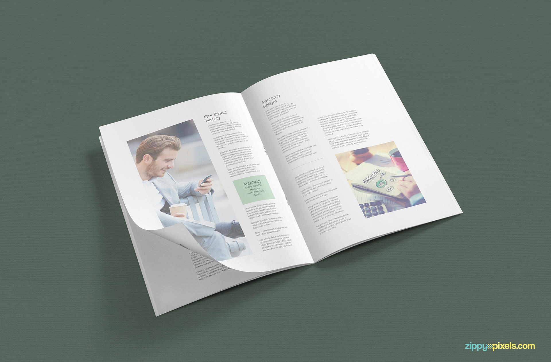 a4-open-view-of-a4-brochure-mockup