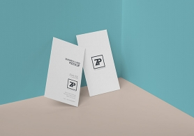Free Creative Business Card Mockup PSD