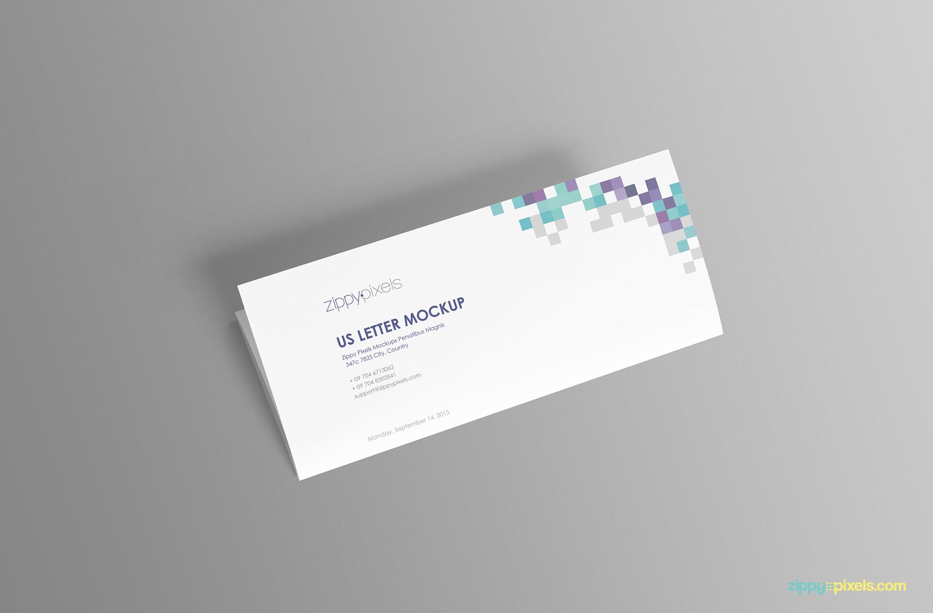 us-letter-paper-mockup-one-third-open