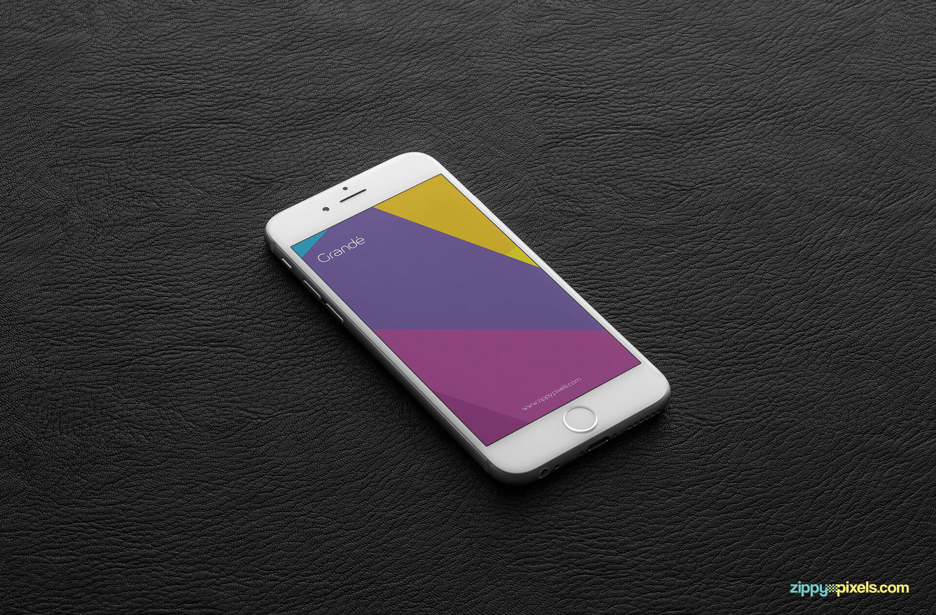 customizable iphone 6s psd screen mockup