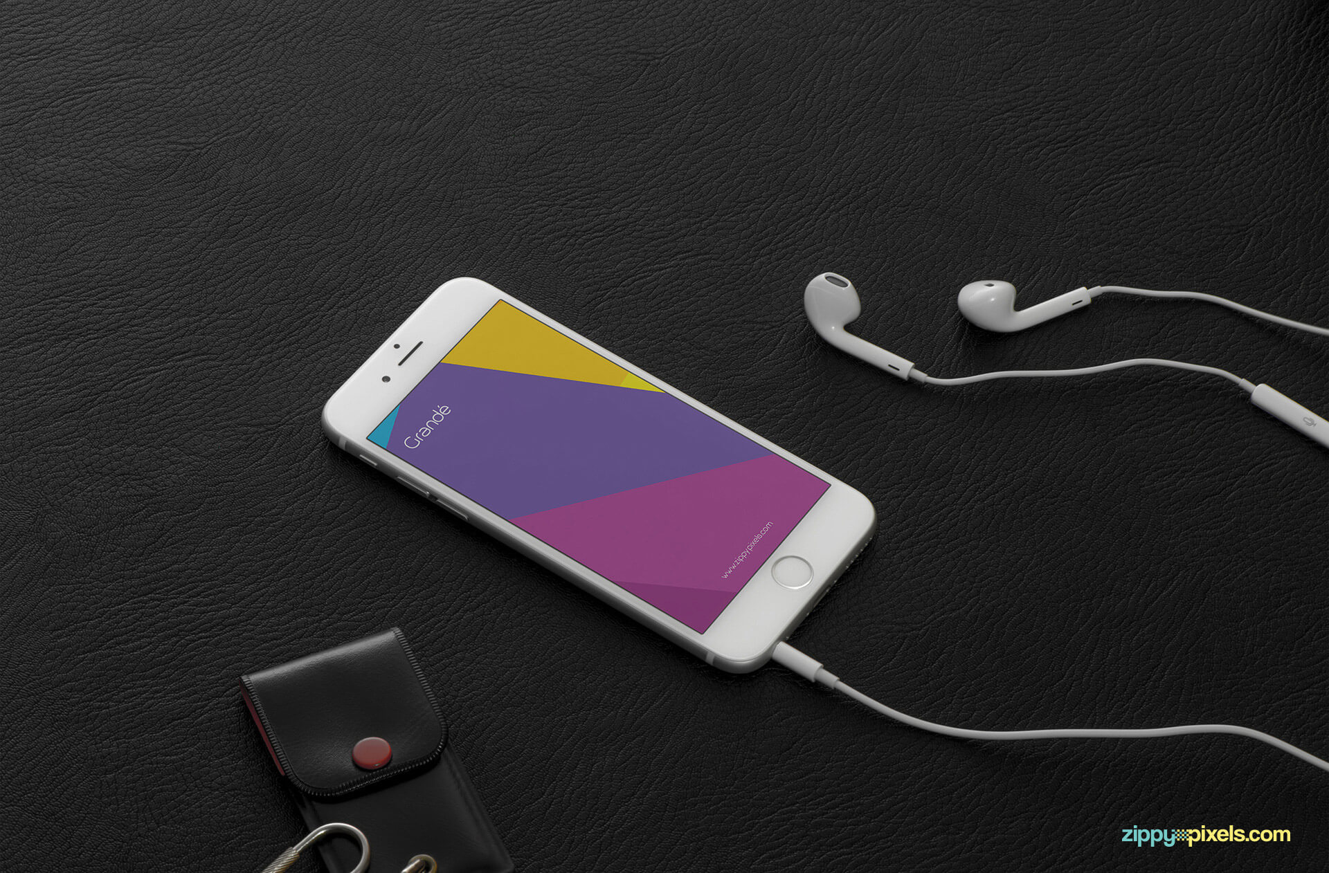 iPhone 6s screen perspective mockups