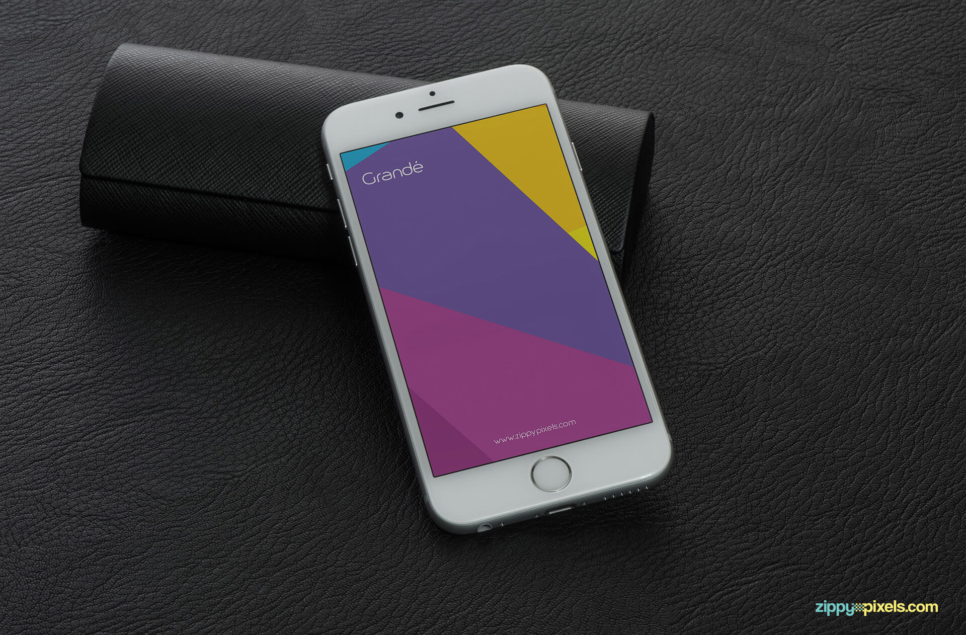 High-quality PSD iphone 6s screen mockup