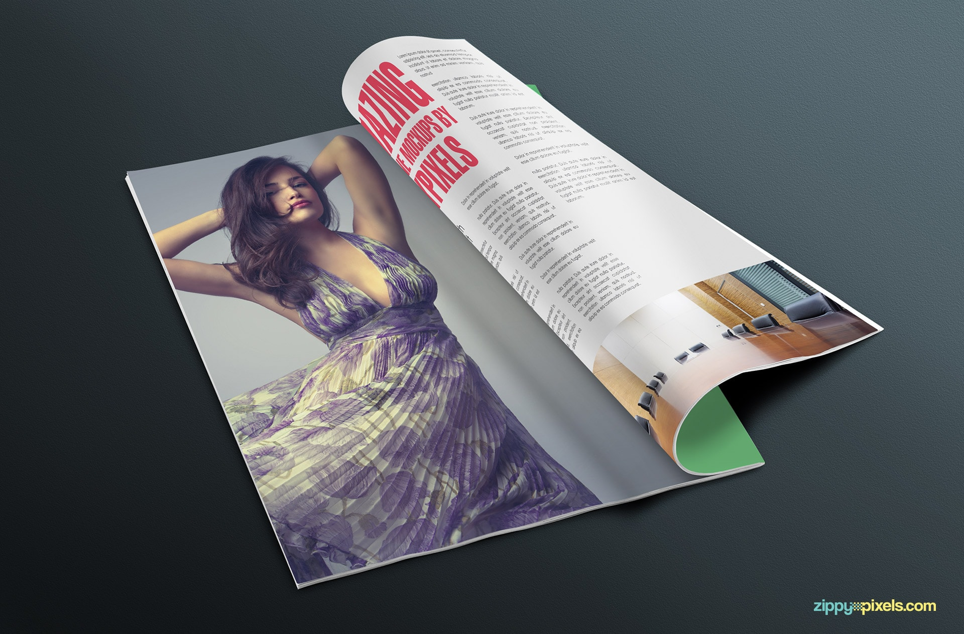 17 magazine + cover mockups