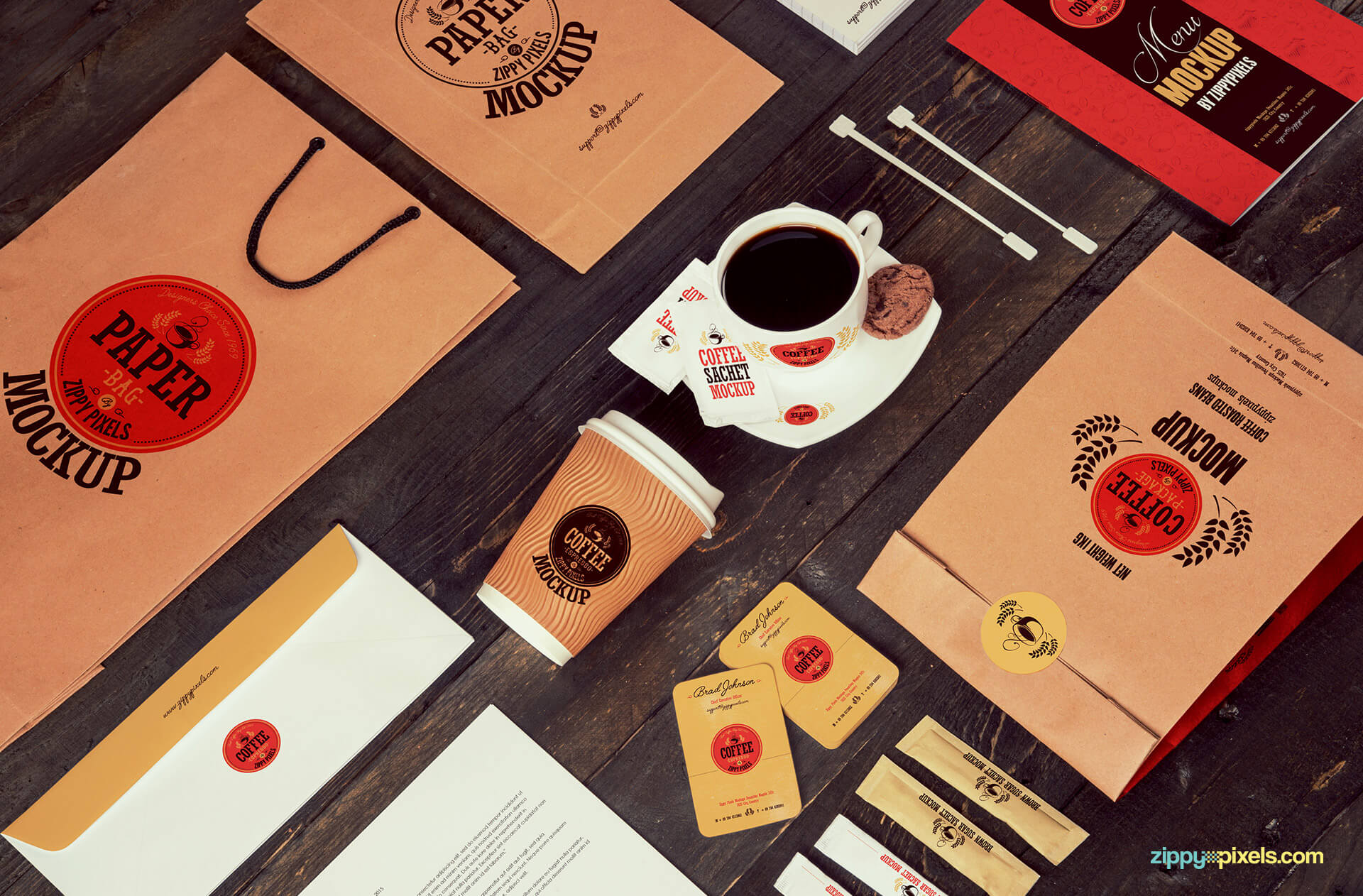 coffee mockups made for creative designs