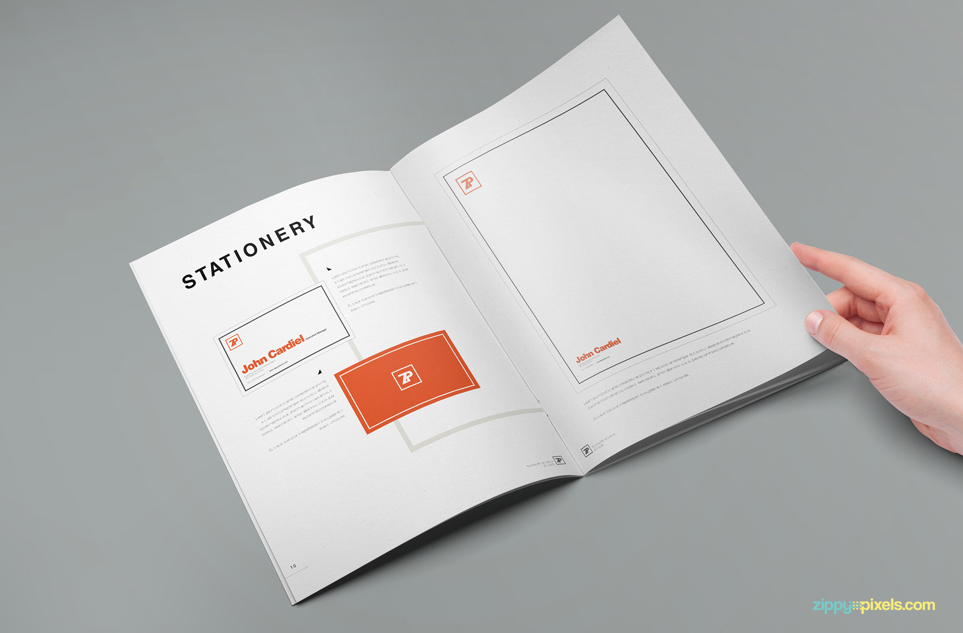 a print ready style guide for your business