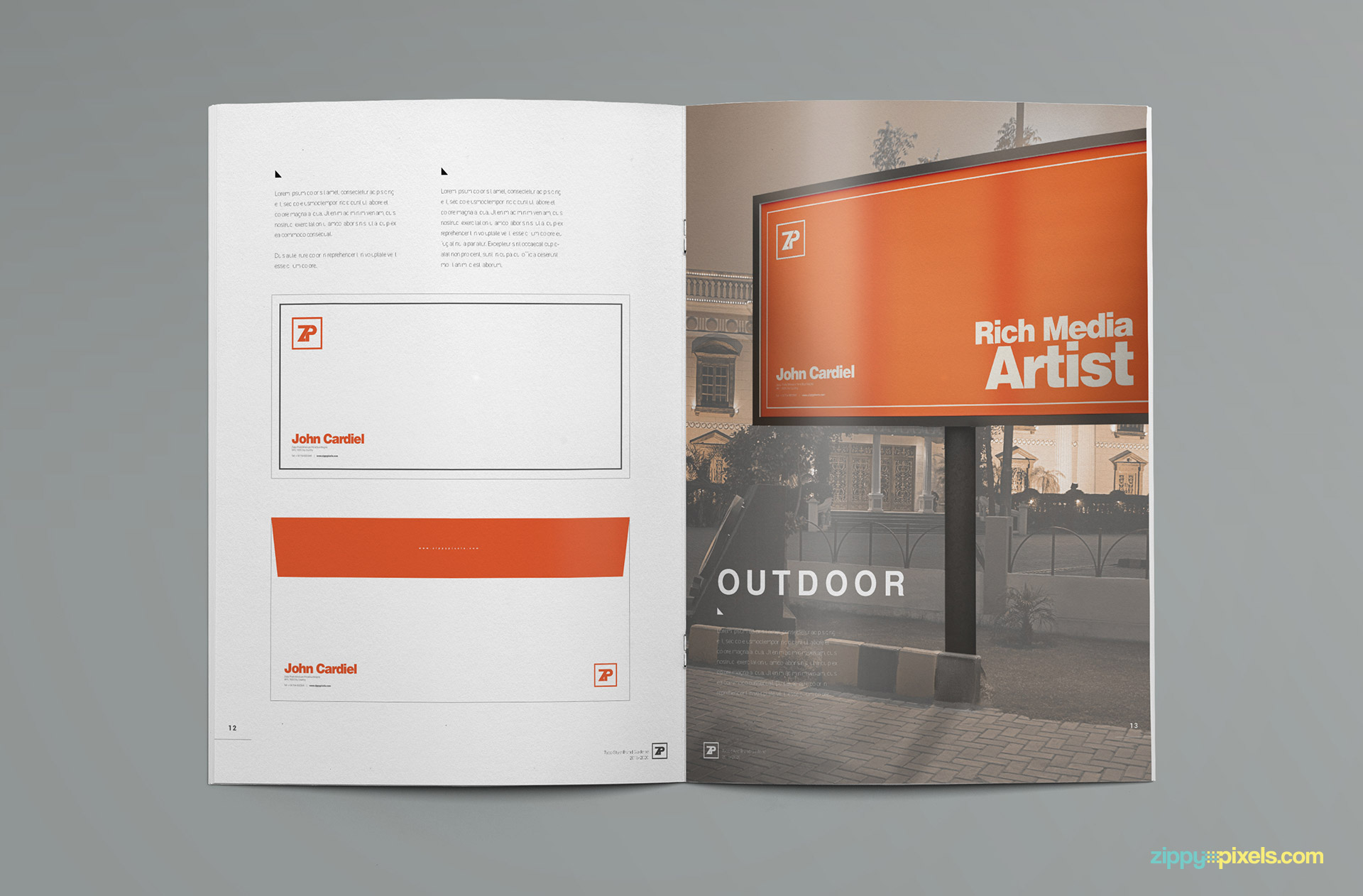 bring consistency to your business with this amazing brand identity template