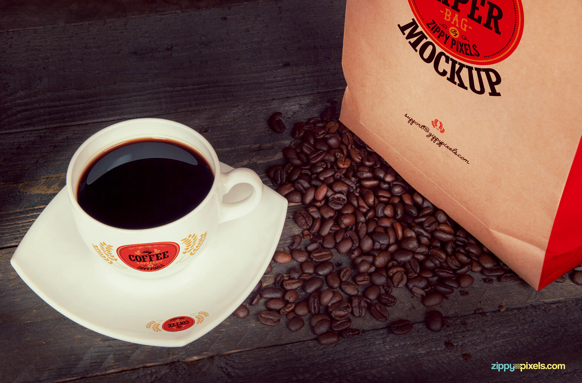 Delivering the best PSD coffee mock ups to you