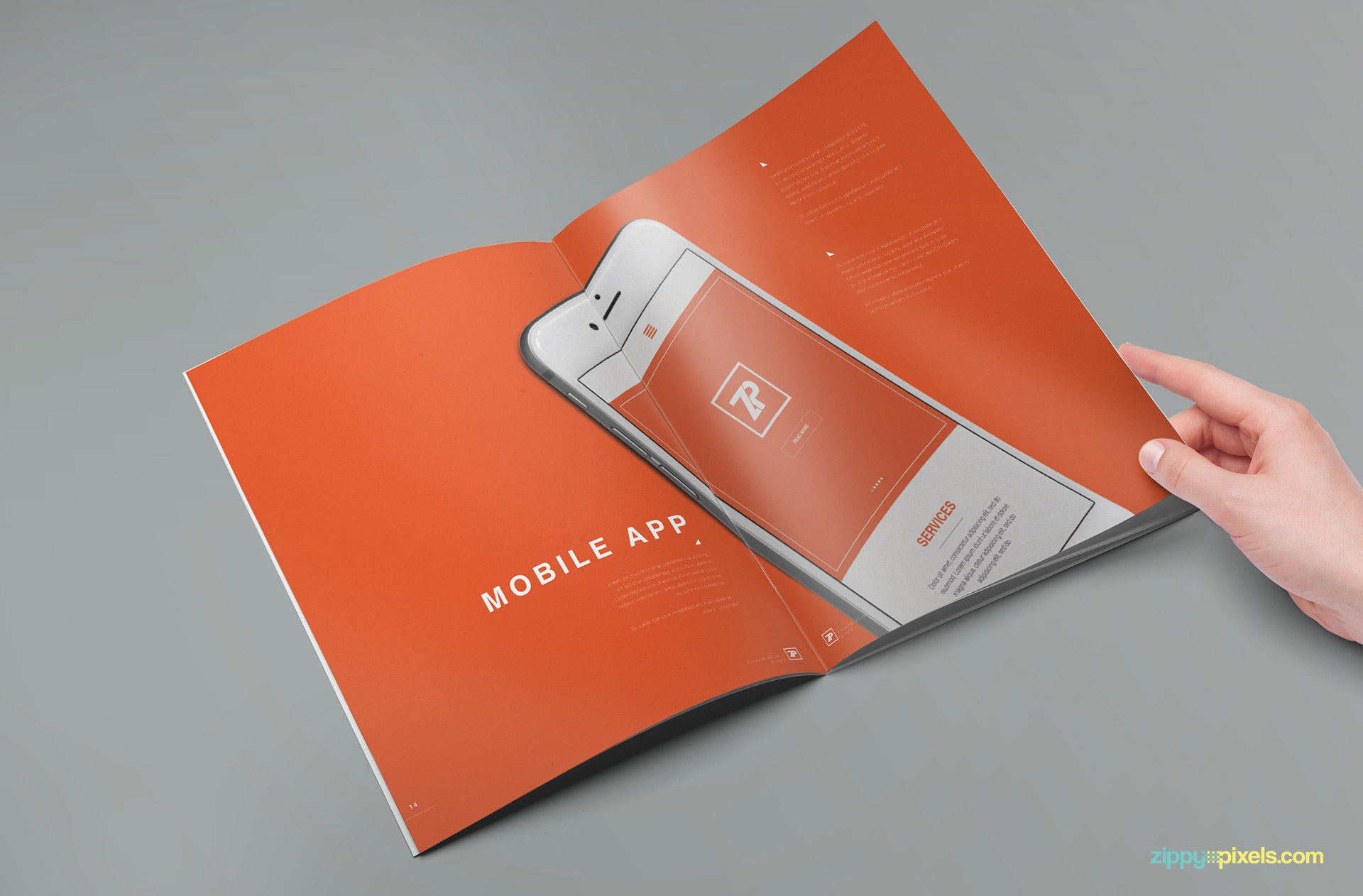 brand guide template with multiple file formats