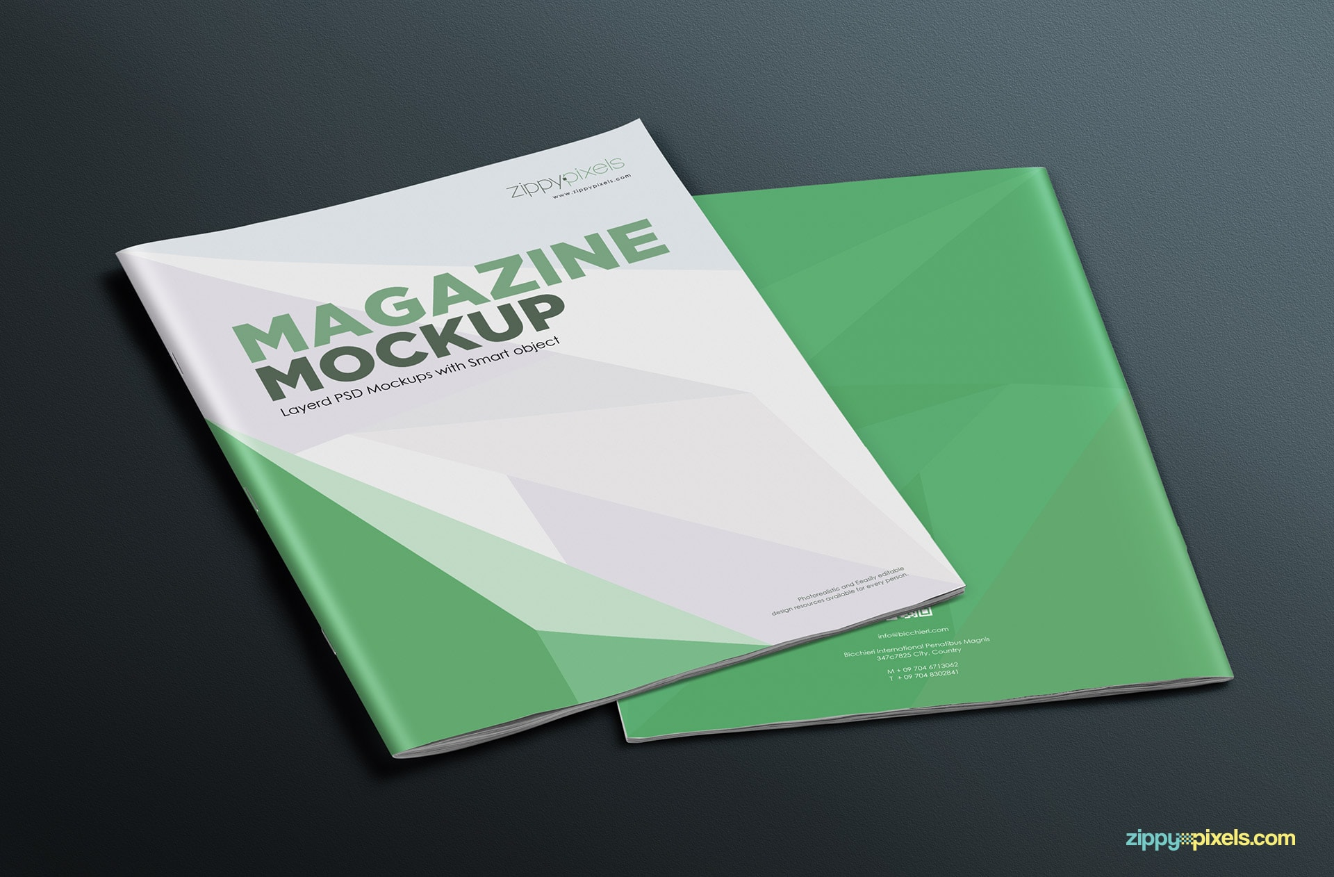 awesome magazine mock-up to display your work