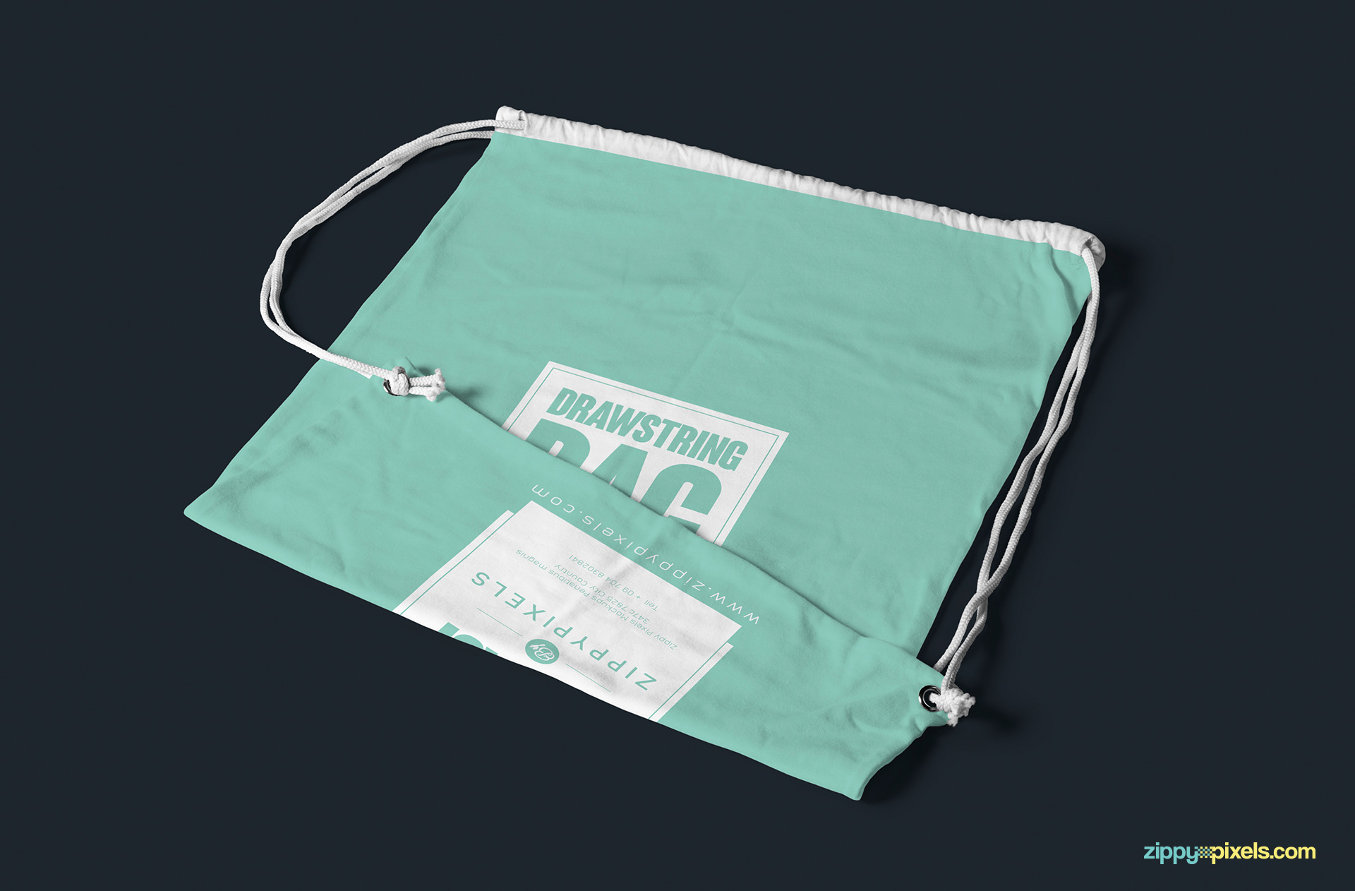 drawstring-bag-empty-folded-mock-up