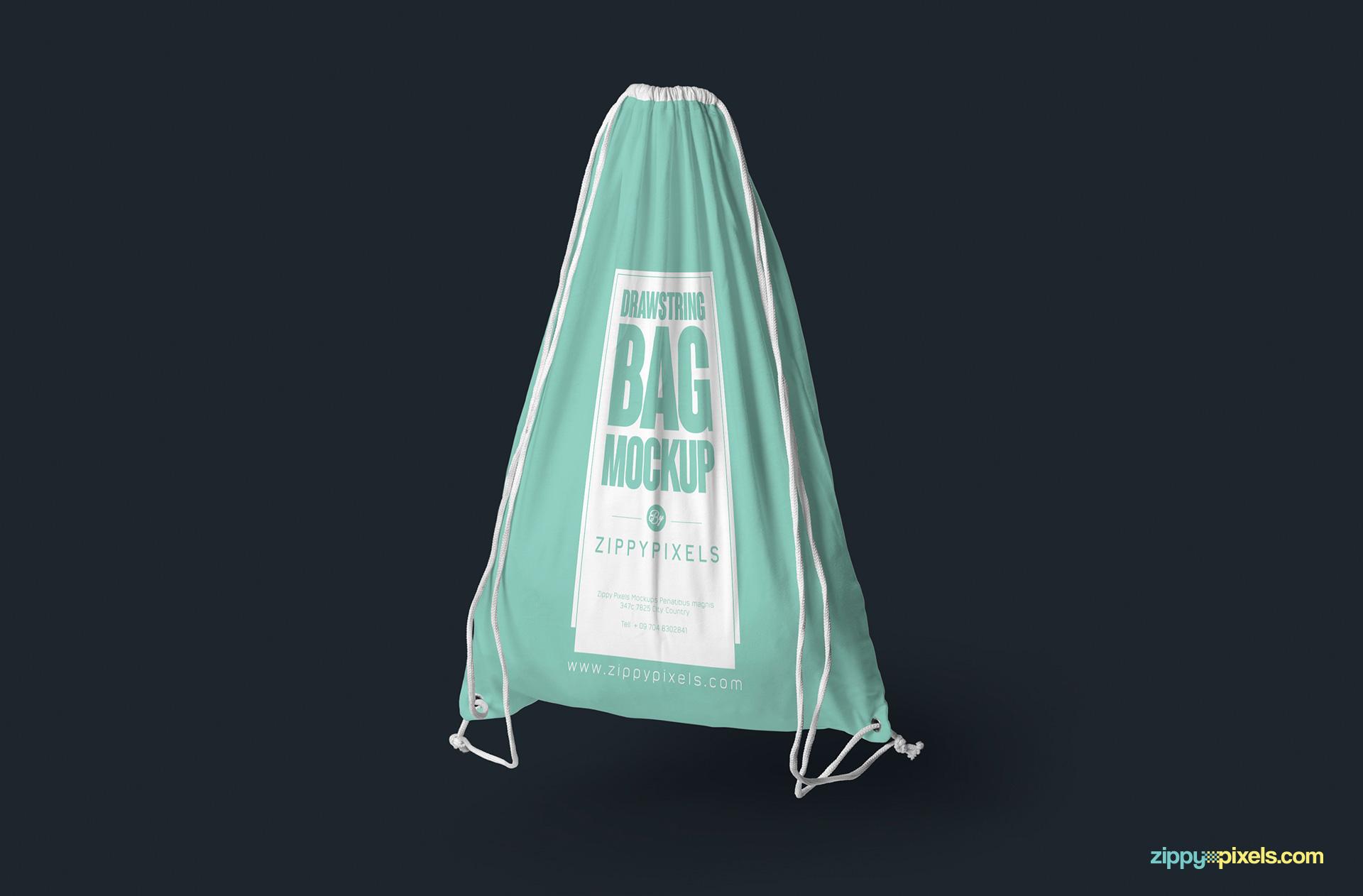 drawstring-bag-hanging-mockup