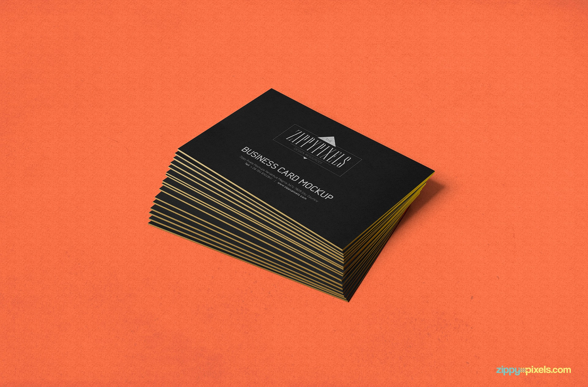 stacked-business-card-card-view