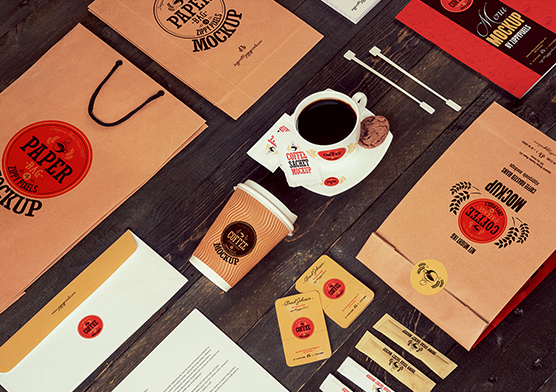 coffee packaging mockup for logo presentations, branding projects and packaging designs