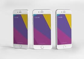 11 Outstanding Apple iPhone 6S PSD Screen Mockups Vol. 2
